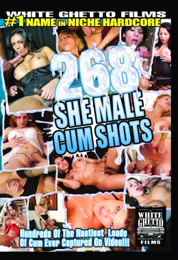 Transsexual, Cumshots, Sperm, Facial, White ghetto films