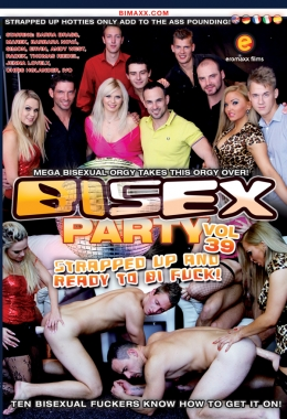 Eromax, Bisex party, Gangbang, Orgy, Groupsex, Ass fuck, Strap on, Anal, Blonde